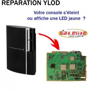 Réparation ps3 YLOD fat