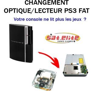 Réparation Optique ps3 FAT