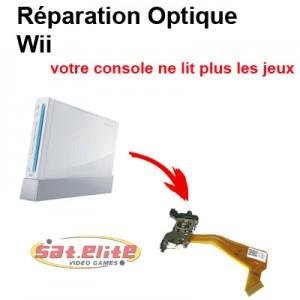 réparation optique wii