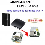 Réparation Lecteur PS3