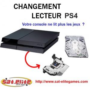 Réparation Lecteur PS4