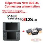 Réparation New 3DS XL Changement Connecteur