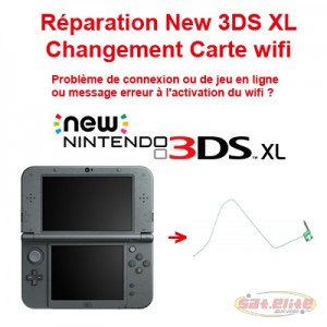 Changement carte Wi-fi New 3DS XL