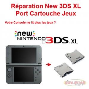 Réparation New 3DS XL port cartouche