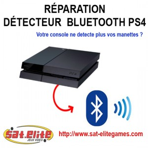 Reparation detecteur Bluetooth PS4